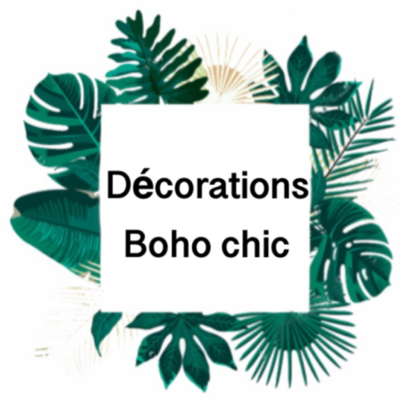 Décorations boho chic
